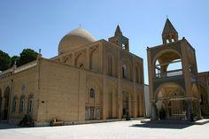 Vank Cathedral, Armenian Quarter, Esfahan, Iran by Mike Gadd, via Flickr