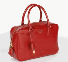 bb69dccb9fc8 Cheap Prada online Saffiano Leather Doctor Bag BL in Red P464  824.18   219.76 Save  73