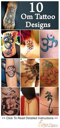 Tattoos come in a wide variety of themes to encompass the diverse range of human emotions. In this post, we will be listing the best OM tattoo designs featuring in single and coloured patterns.
