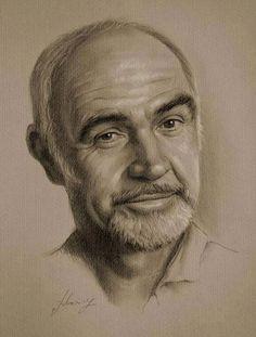 Wonderful Hollywood Celebrity Portrait Drawings by Polish Artist Krzysztof Łukasiewicz.