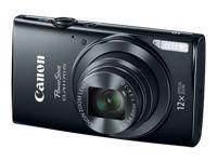 Canon PowerShot ELPH 170 IS - Digital camera - compact - 20.0 Mpix - 12 x optical zoom - black