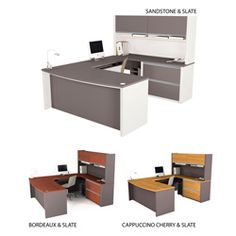 @Overstock - This Bestar Connexion U-shape desk will provide a clean, uncluttered look in any office space.   http://www.overstock.com/Office-Supplies/Bestar-Connexion-U-shape-Desk-with-Hutch/5224310/product.html?CID=214117 $856.99