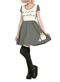 Dress from <i>My Neighbor Totoro</i> with a costume design.