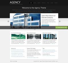 Agency Theme  http://demo.studiopress.com/agency