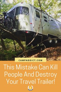 Avoid Deadly RV Accident With This Hack This common towing mistake can end in disaster. This RV towing hack can save lives! Travel Trailer Camping, Rv Travel, Travel Trailers, Camping Style, Family Camping, Hiker Trailer, Rv Camping Checklist, Camping Hacks, Camping Ideas