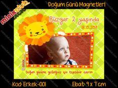 Doğum Günü Magnetleri - Size Özel ve Kişisel | MinixClub
