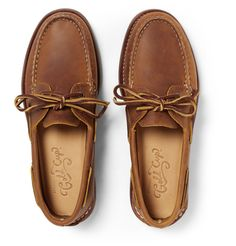 9e409e2b82 Sperry Top-Sider - Gold Cup Authentic Original Burnished-Leather Boat Shoes