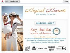 Macy's Thank-A-Mom Movement {giveaway}