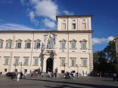 Palacion do Quirinal, sede da presidencia de República italiana.