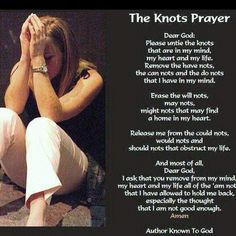 Knot prayer!!!