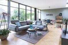 Schitterende #hoekbank Volare uit de #Xooon collectie. Uitgevoerd met… Living Spaces, Living Room, Outdoor Furniture Sets, Outdoor Decor, Modern Interior, Dining Bench, Couch, Patio, Design
