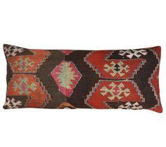 Vintage Kilim Lumbar Pillow 1