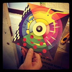 "New @faltydl 'Straight & Arrow 7"" fresh out of the box! Includes a Gold Panda remix"
