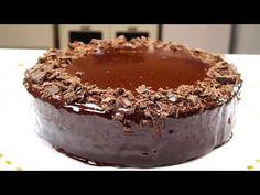Tort de Ciocolată - doar 3 ingrediente! Fåra coacere, fara fainå, fara ouå! - YouTube No Cook Desserts, 3 Ingredients, Chocolate Cake, Pudding, Eggs, Baking, Youtube, Chicolate Cake, Chocolate Cobbler