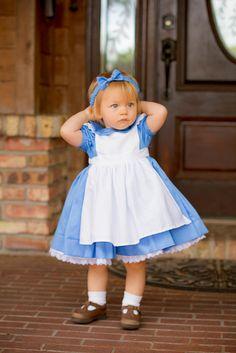 Baby Alice in Wonderland costume dress