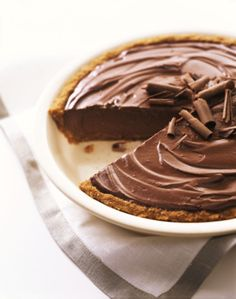 Chocolate Pie - Recipe for a Chocolate Pie