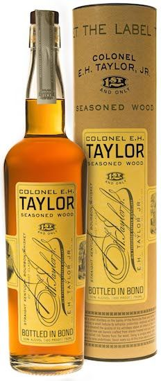 The Colonel E. H. Taylor #Bourbon Line Expands with Seasoned Wood. #Whiskey. | #BeverageDynamics Magazine
