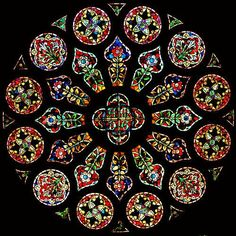 stained glass window from unidentified church Stained Glass Church, Stained Glass Art, Stained Glass Windows, Mosaic Art, Mosaic Glass, Rose Window, Church Windows, Cathedral Windows, Art Of Glass