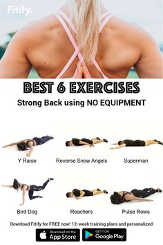Gym Workout Tips, Workout Videos, At Home Workouts, Exercise Workouts, Fitness Exercises, Superman, Google Play, Fitness Tips, Fitness Motivation
