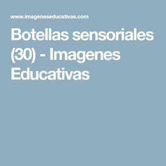 Botellas sensoriales (30) - Imagenes Educativas
