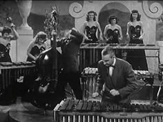 Reg Kehoe and his Marimba Queens.