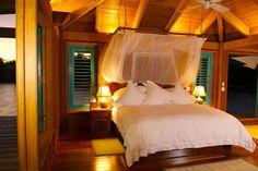 romantic atmosphere bedroom