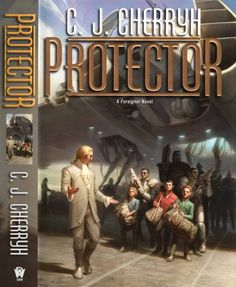 Todd Lockwood - art for Protector (Foreigner 14) by C.J. Cherryh - 2013 Daw Book hardcover