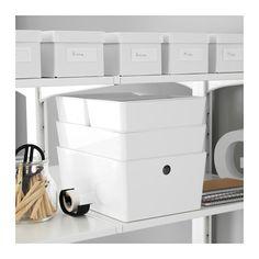 KUGGIS Box mit Deckel - 26x35x15 cm - IKEA