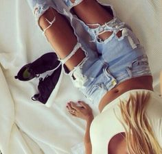 $21 Finally Distressed at NEEDMYSTYLE.COM  #bikinitop #bra #croptop #needmystyle #outfit #fashionaddict #distressedjeans #bodycondress #cutoutjeans #bikini #bodycon #bodysuit #boyfriendjeans #dress #fashion #romper #deepv #monokini #jumpsuit #tops #swimmers #clothing #style #swimsuit #swimwear #jeans #lingerie #rippedjeans #bralette