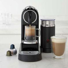 Nespresso Citiz Espresso Maker with Aeroccino 3 Automatic Milk Frother #williamssonoma