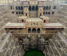 India's forgotten yet still remarkable water stepwells--centuries-old subterranean structures, originally built as large-scale water cisterns to store monsoon rainwaters for later use