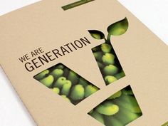 Annual report for Viridian Energy, a green energy corporation. The report outlines the sustainability results and efforts of Viridian customers, associates and staff. Nachhaltiges Design, Page Layout Design, Food Graphic Design, Magazine Layout Design, Book Design, Cover Design, Design Trends, Design Ideas, Design Inspiration