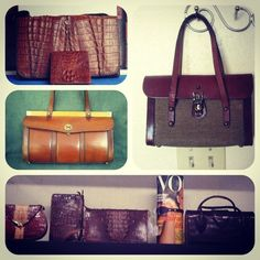 {Idlewild South} Shop: How To Find The Perfect Vintage Bag with The Purse Lady #Vintage #Purse