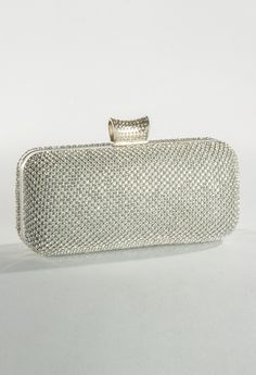 Fully Rhinestone Box Bag from Camille La Vie and Group USA