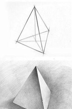Basic Sketching, Basic Drawing, Figure Sketching, Anime Drawings Sketches, Cool Art Drawings, Pencil Drawings, Drawing Ideas, Geometric Shapes Drawing, Geometric Art