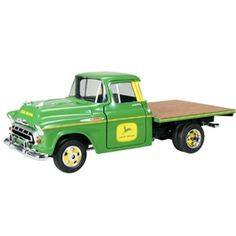 John Deere 1957 Chevy Truck with Flatbed | WeGotGreen.com