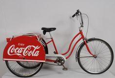 Coca-Cola - Schwinn 3-speed delivery trike  (Schmidt Museum of Coca-Cola Memorabilia)