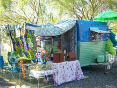 Sisters on the Fly (SOTF) take glamping seriously and no one does it ...