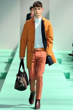 Paul Smith - those pants are making me swoon - poached salmon anyone?