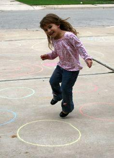 preschool gross motor skills homeschooling activity