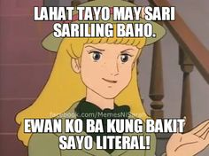 Good vibes all over Bisaya Quotes, Tagalog Quotes Hugot Funny, Patama Quotes, Cartoon Quotes, Funny Qoutes, Bitch Quotes, Funny Memes, Jokes, Memes Pinoy