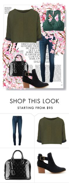 """Sin título #3845"" by onedirection-h1n1l2z1 on Polyvore featuring Belleza, Diesel, Topshop, Louis Vuitton, Sole Society, Free People y Whiteley"