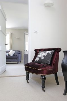 Boudior decor with our Bouji Chair, Bourbon Bedside Table and the Halston 3 Seater on Unboxed | made.com/unboxed