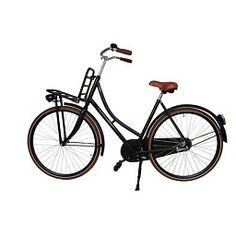 Transporter Damesfiets (Mat Zwart) #fiets #transporterfiets #goedkopefiets #nieuwefiets Bicycle, Vehicles, Rice, Bike, Bicycle Kick, Bicycles, Car, Vehicle, Tools