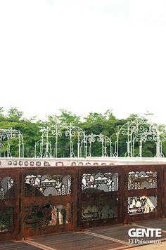 Puente Ortiz Cali Colombia, Building, Socialism, Bridges, Places, Buildings, Construction