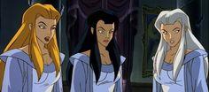 Weird sisters Disney's Gargoyles