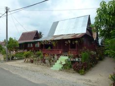 Tanjung Dahan Malaysia Truly Asia, Hidden Beach, Fishing Villages, Cabin, House Styles, Beautiful, Home Decor, Decoration Home, Room Decor