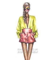 Diane von Furstenberg Spring Summer Ready to Wear 2013 by Anoma Paleebut