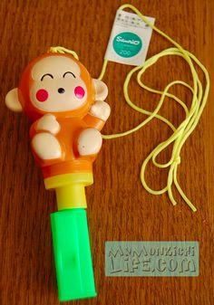Monkichi Whistle Sanrio 1993 | My Monkichi Life