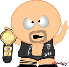 Texas Rattlesnake, Stone Cold Steve, Cartoon Photo, Steve Austin, Wwe Wrestlers, Wwe Superstars, South Park, Mickey Mouse, Manly Things